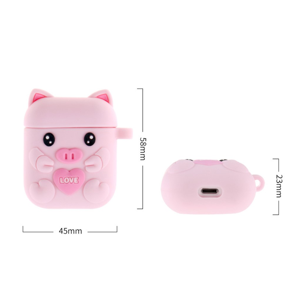Trolsk Cartoon Cover for Apple AirPods Case