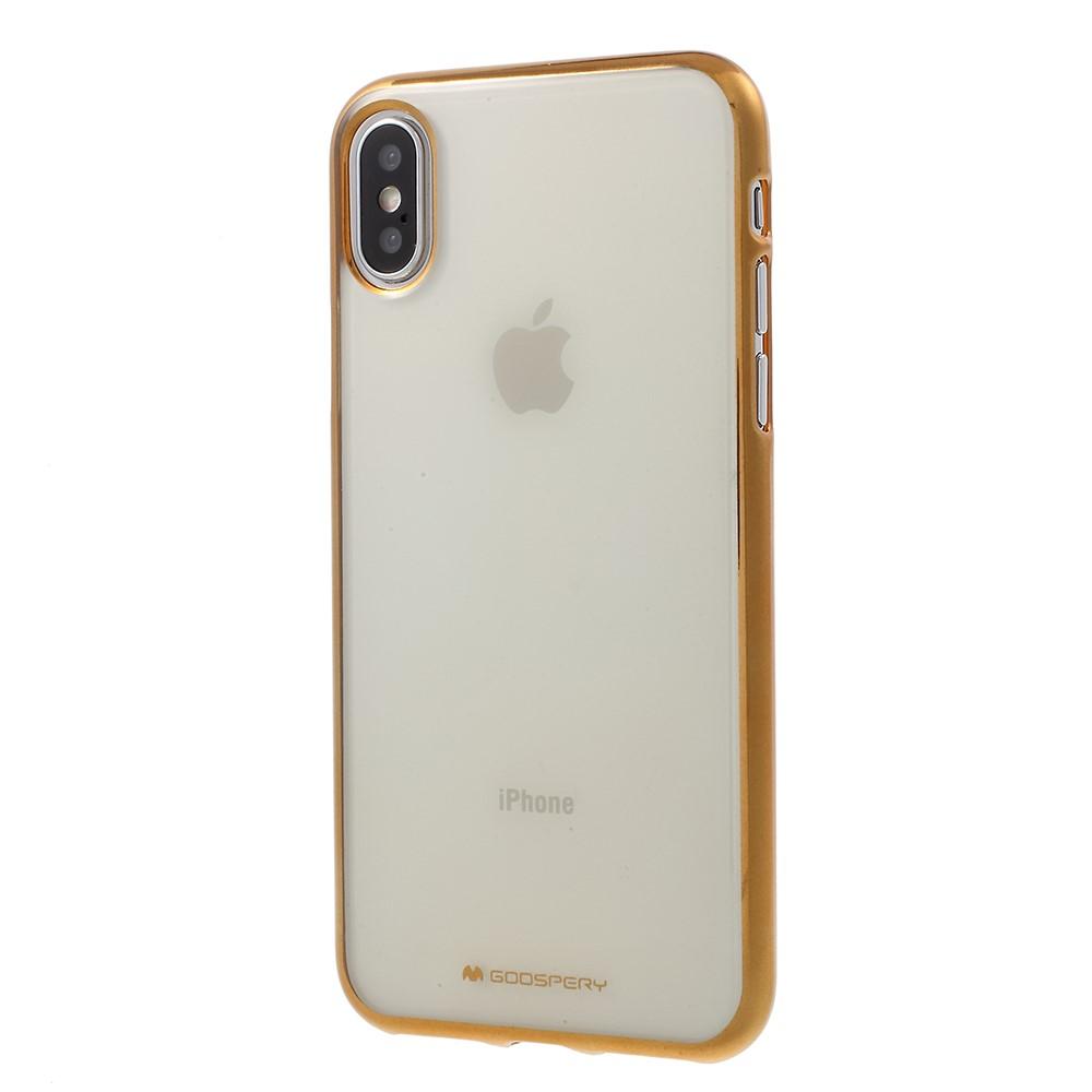 Mercury Goospery Ring Iphone X New Bumper Case Gold