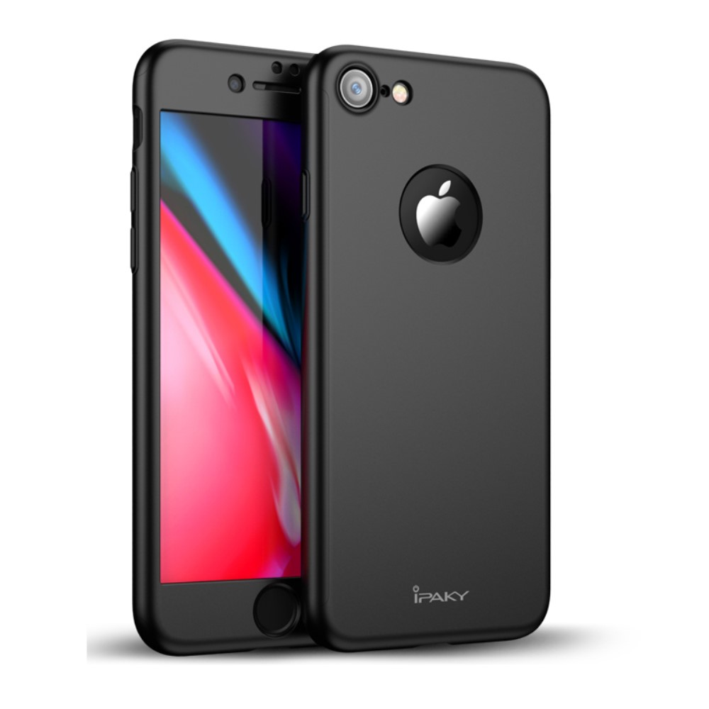 ipaky hard case screen protector iphone 8. Black Bedroom Furniture Sets. Home Design Ideas