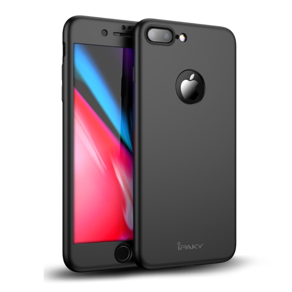 ipaky hard case screen protector iphone 8 plus. Black Bedroom Furniture Sets. Home Design Ideas