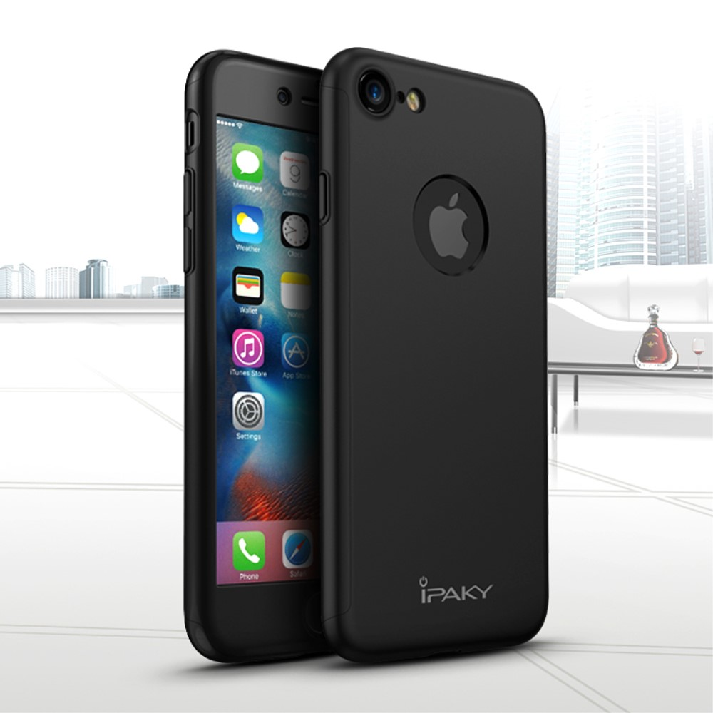 ipaky hard case screen protector iphone 8 7. Black Bedroom Furniture Sets. Home Design Ideas