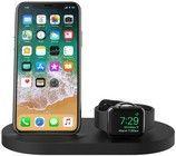Hvit iPhone 4S dockestasjon lader til iPhone 4S