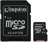 Kingston Canvas Select MicroSD 80R + Adapter - 16 GB