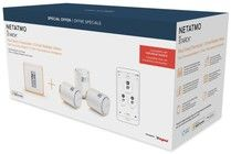 Netatmo Smart Thermostat V2 + 3-Pack Smart Radiator Valves