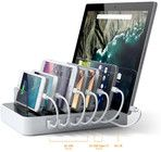Satechi 7-Port USB Charging Station with USB-C