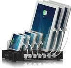 Satechi 7-Ports USB Charging Station - Svart