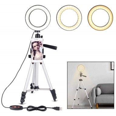 Trolsk LED Light Tripod + iPhone Holder