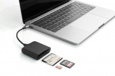 HyperDrive USB-C Pro Card Reader