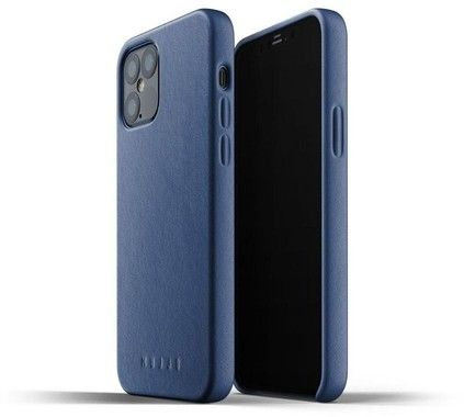 "Mujjo Full Leather Case (iPhone 12 6,1"")"