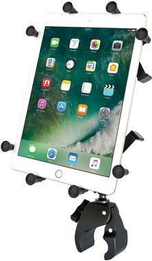 RAM Mount X-Grip med Tough-Claw & Roto-View (iPad)