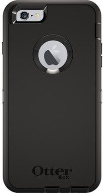 OtterBox Defender Case (iPhone 6/6S) - Svart - iPhone 6 / 6S skal