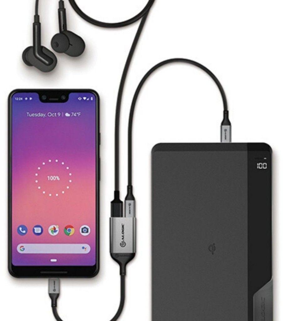 Alogic Ultra USB C to USB C Audio and USB C Charging Combo Adapter