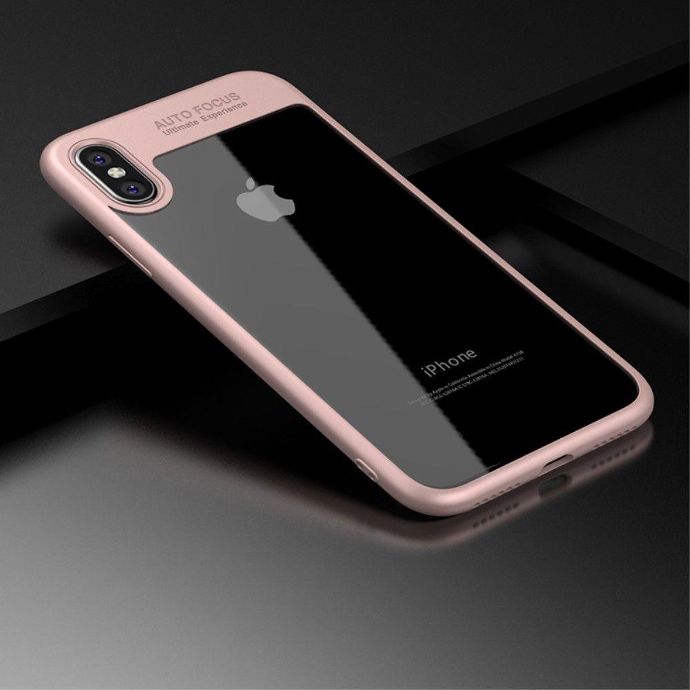Deksel - iPhone X Xs - iPaky Clear Hybrid Case - iPhonehuset.no 9b80d62d76d61