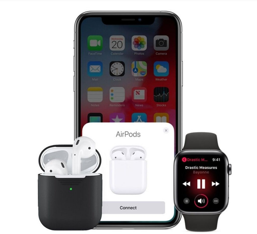KeyBudz PodSkinz Silicone Case (Apple AirPods 1/2)
